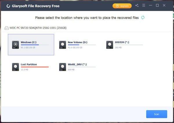Glarysoft File Recovery(数据恢复软件)下载