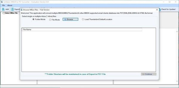 Softaken MBOX to PST Converter