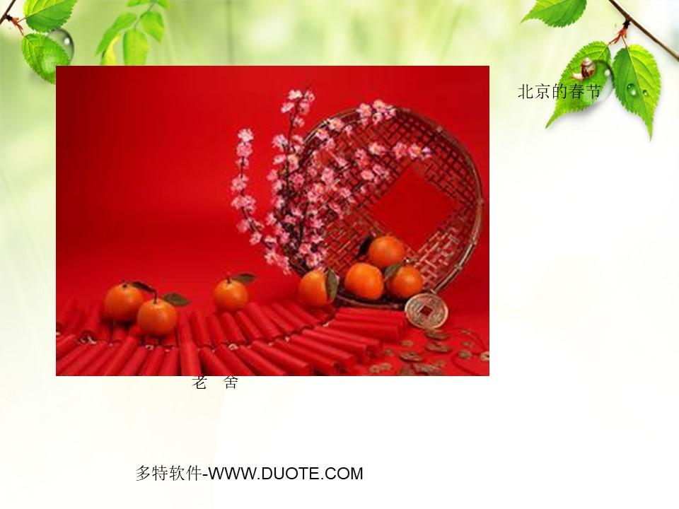 《北京的春节》PPT课件6下载