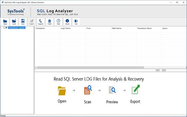 SysTools SQL Log Analyzer(SQL数据库日志分析工具)