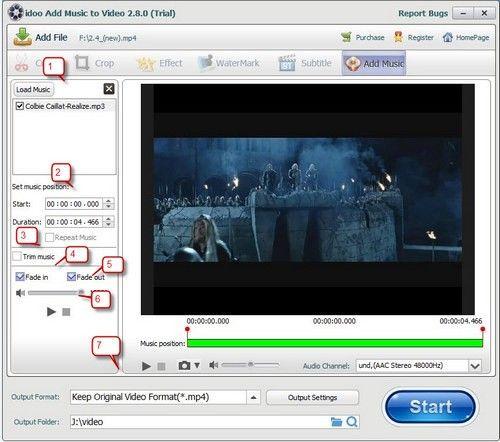 idoo Add Music to Video(添加音乐工具)下载