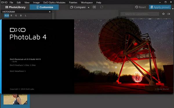 DxO PhotoLab(照片后期处理软件)下载