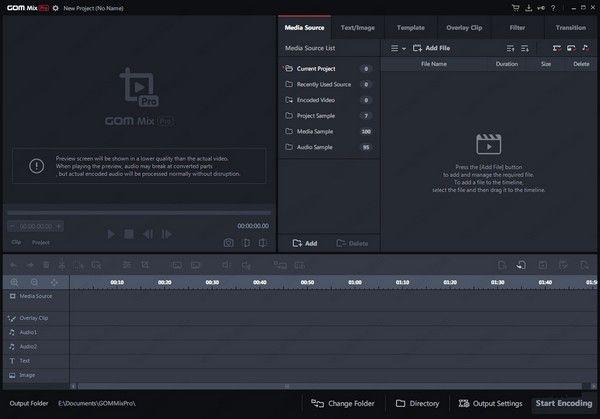 GOM Mixr pro(视频编辑工具)