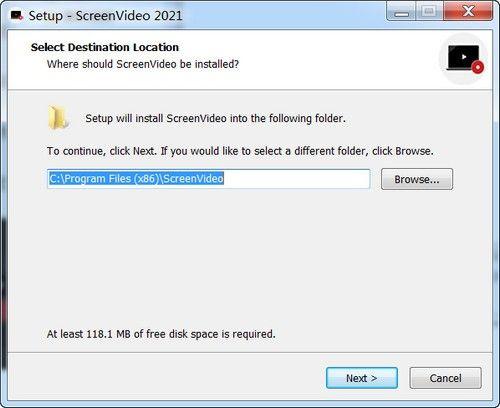 ScreenVideo 2021(视频录像工具)下载