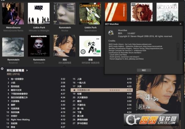 MusicBee简体中文优化绿色版