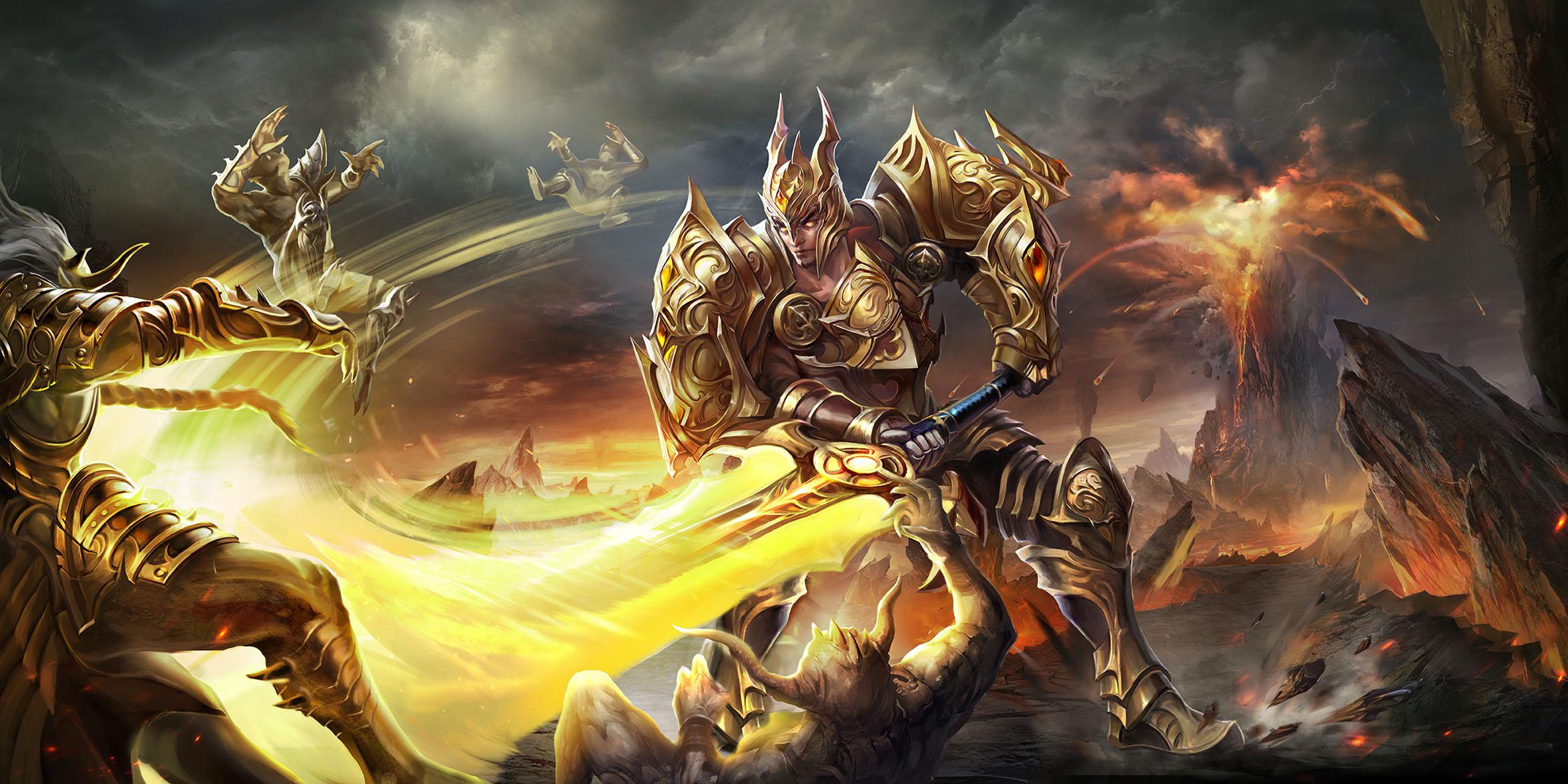 2018暑期游戏高清大图-神龙战士