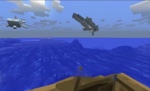 我的世界如何驯服海豚?我的世界手机版海豚怎么骑?