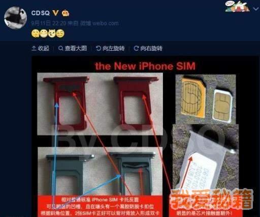 iPhone九月份新机SIM卡托详细介绍