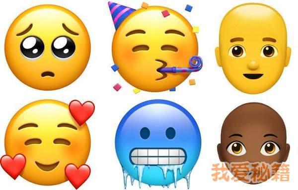 苹果ios12.1上线70个新Emoji表情汇总 了解一下