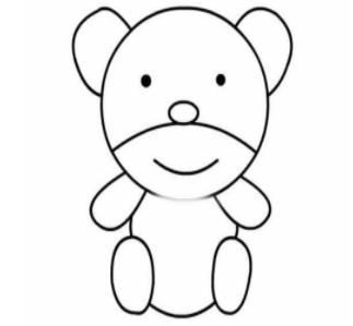 qq画图红包熊怎么画 qq画图红包熊画法分享