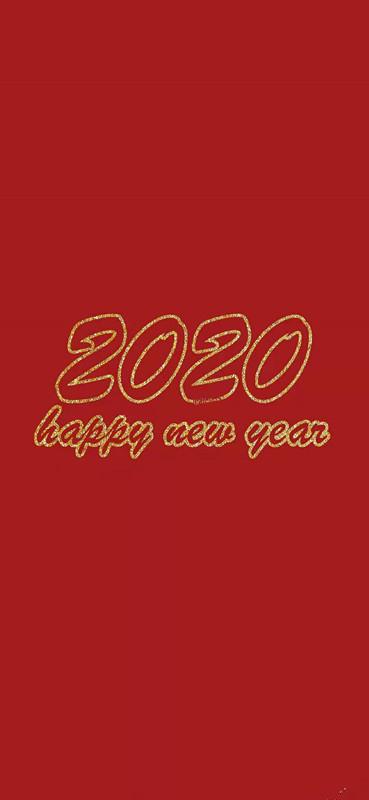 2020鼠年大吉大利红色系壁纸 2020鼠年红色壁纸说说配图