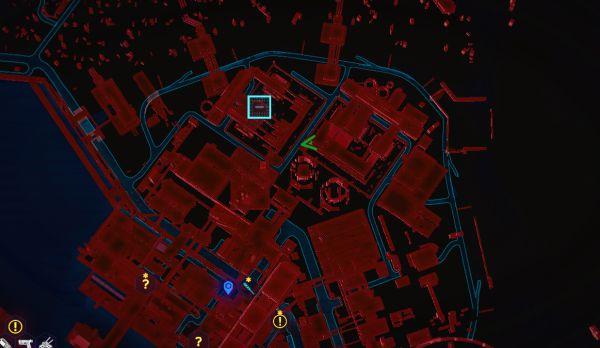 赛博朋克2077沃森区传说西服位置图示
