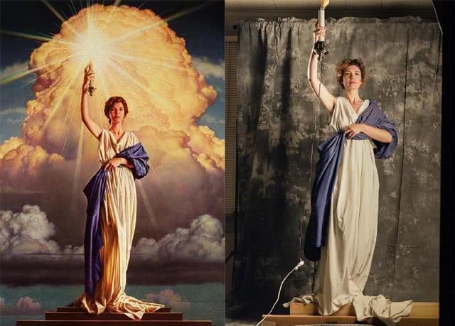 抖音火炬女神素材图片高清 2020火炬女神动图表情包素材展示