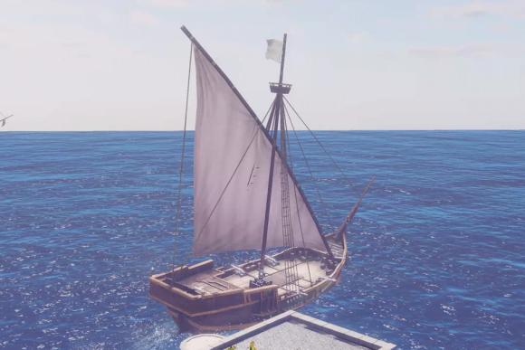 《黎明之海》帆船设计概念解析分享