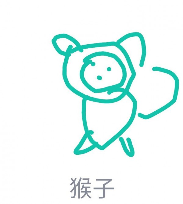 qq画图红包猴子怎么画 qq红包猴子画法详解