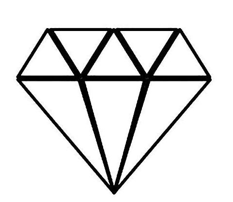 QQ红包钻石图案怎么画好识别?钻石图案最容易识别画法分享