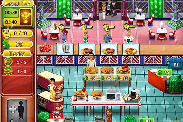 欢闹汉堡店2:艾莉的有机食品 (Burger Bustle: Ellie's Organics)下载