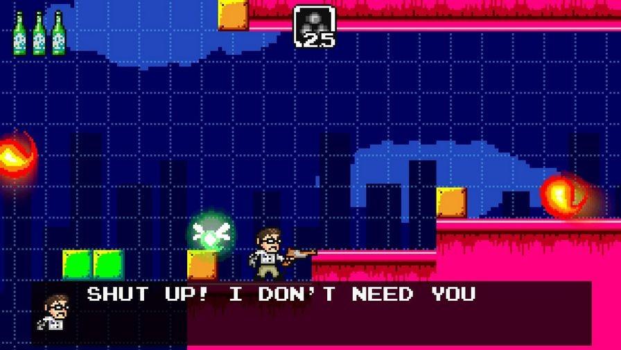 愤怒的电视游戏宅男冒险下载