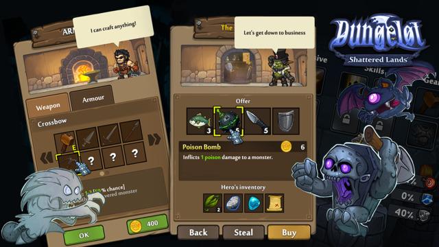 Dungelot: Shattered Lands软件截图2