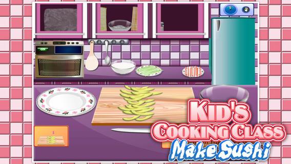萌娃烹饪课:制作寿司软件截图0