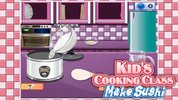 萌娃烹饪课:制作寿司软件截图1