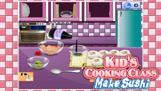 萌娃烹饪课:制作寿司软件截图2