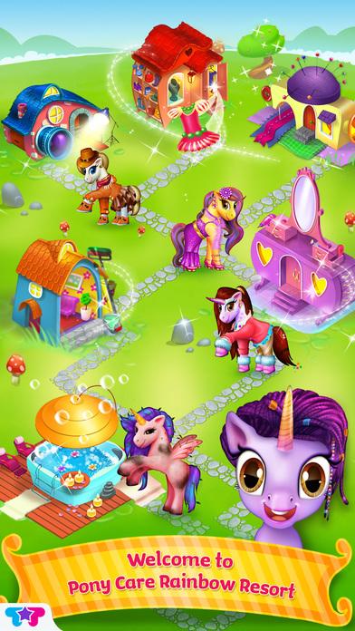 Pony Care Rainbow Resort软件截图1