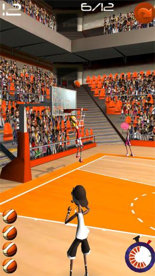 Basketball Shooting Stars软件截图2