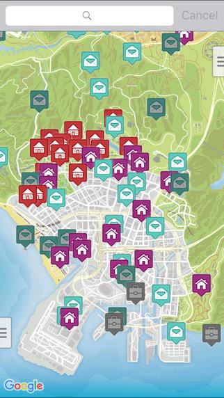Interactive Map for GTA 5软件截图0