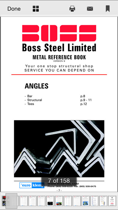 Boss Steel Reference Guide软件截图1