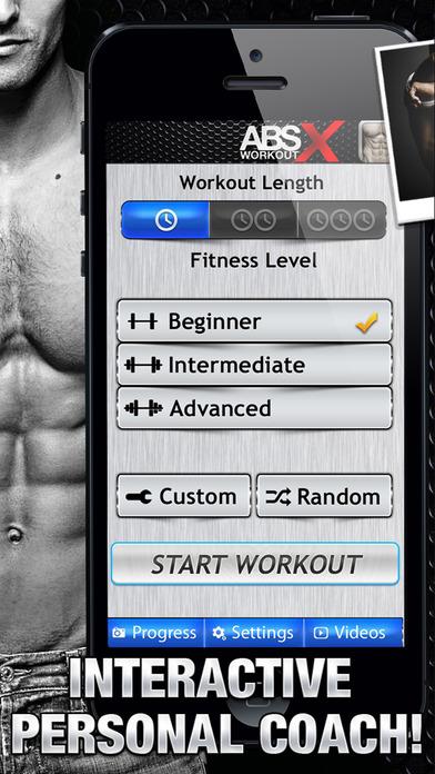 腹部运动 X软件截图1