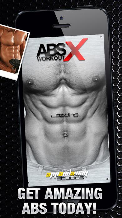 腹部运动 X