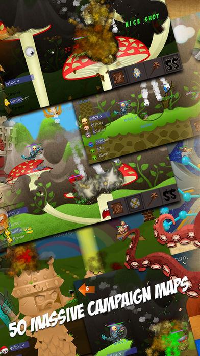 小人大战 Eenies? at War 战斗游戏 online mmorpg war game软件截图1