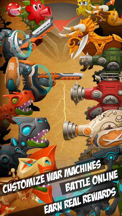 小人大战 Eenies? at War 战斗游戏 online mmorpg war game软件截图0