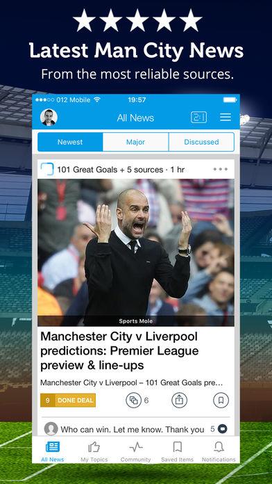 Manchester City News软件截图0