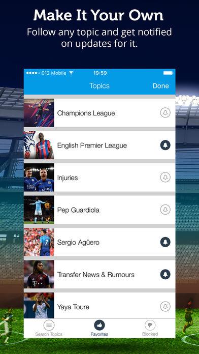 Manchester City News软件截图1