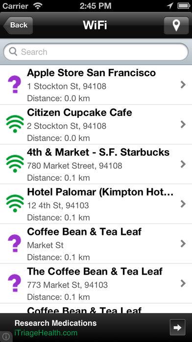 Free WiFi Finder软件截图0