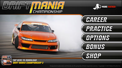 Drift Mania Championship Gold软件截图1