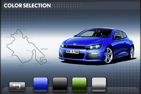 Volkswagen Scirocco R软件截图2