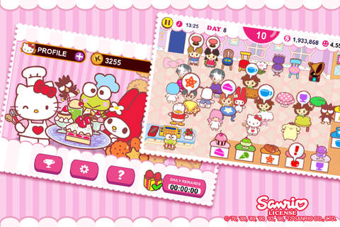 Hello Kitty 咖啡厅软件截图2