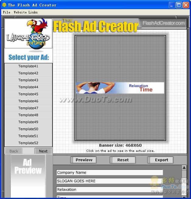 Flash动画制作软件(The Flash Ad Creator)下载