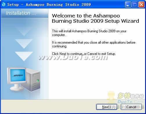 Ashampoo Burning Studio 2009下载