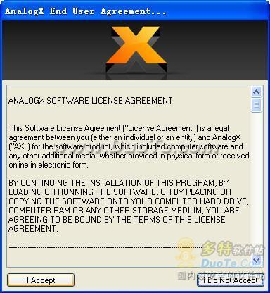 AnalogX Proxy下载