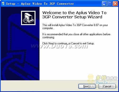 Aplus Video to 3GP Converter下载