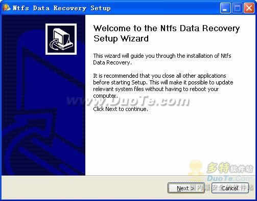 NTFS Data Recovery下载