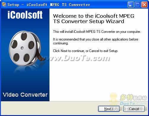 iCoolsoft MPEG TS Converter下载