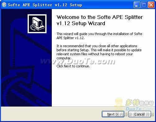 Softe APE Splitter下载