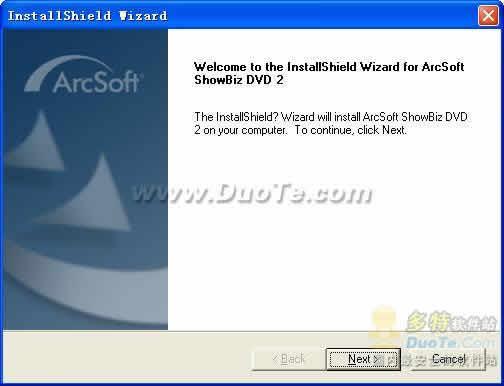 ArcSoft ShowBiz DVD下载
