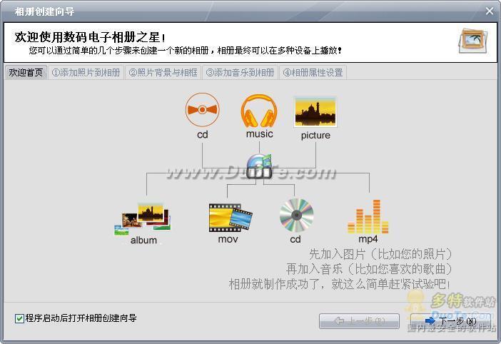 数码电子相册之星 2009下载
