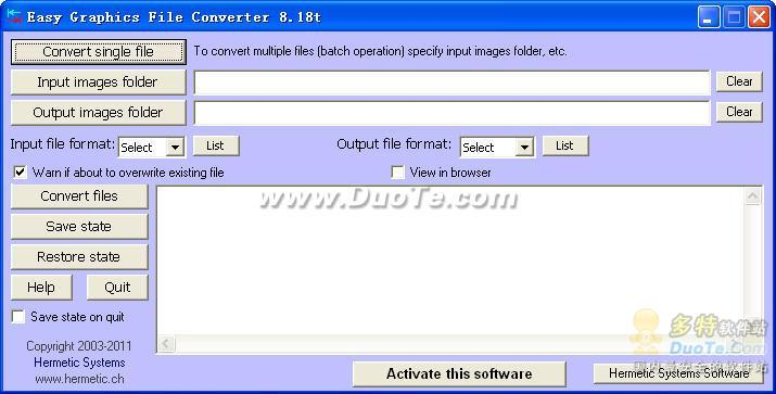 Easy Graphics File Converter下载